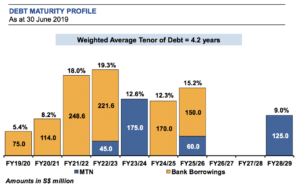 MINTSP Debt Maturity Profile June 2019