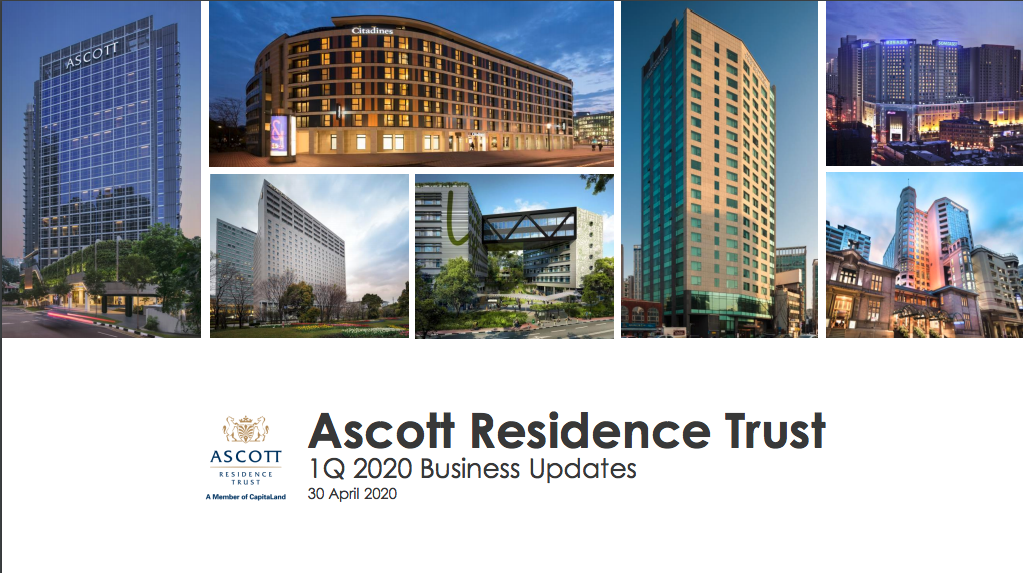 Ascott Reit Q1 business update amidst Covid-19 world pandemic picture